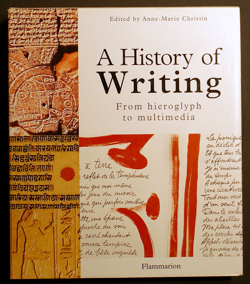 history of writing