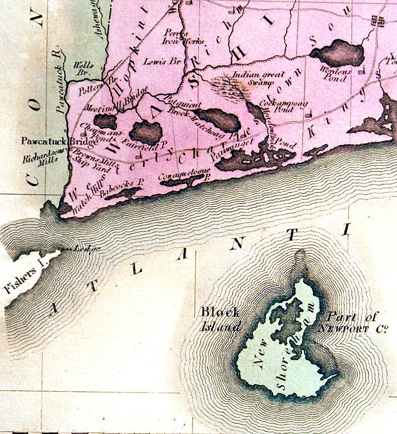 ''Rhode Island'' C 1823