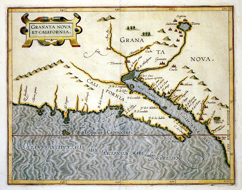 Image result for 1597 Wytfliet map